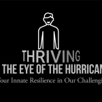 "open title image for new book ""Thriving in the eye of the hurricane"""