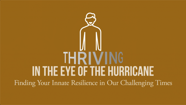 Thriving in the Eye of the Hurricane: Honoring Dr Martin Luther King