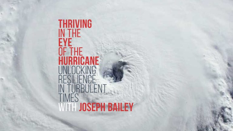 Read more about the article Thriving in the Eye of the Hurricane: New Podcast Series
