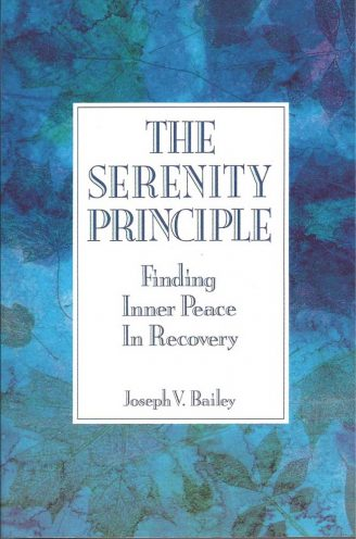 the serenity principle book cover: This challenge to the paradigms of addiction and recovery theory shows those in recovery how to tap their own source of positive energy